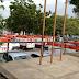 18 ambulâncias do Samu esperam por liberação de macas no Walfredo Gurgel nesta segunda