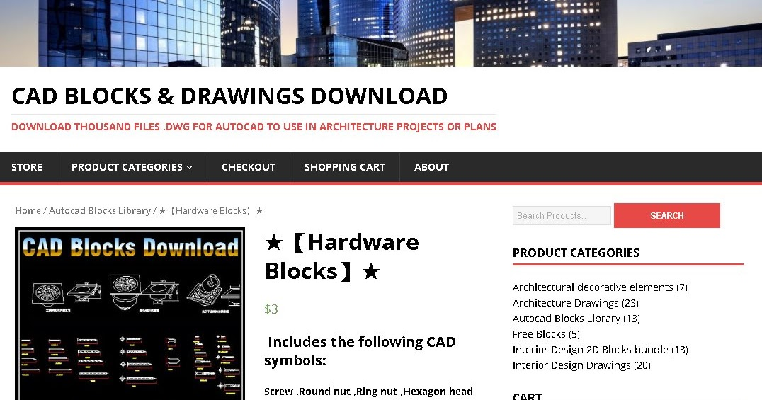 Cad Drawing Downloads Free Cad Files Dwg Dxf Hardware