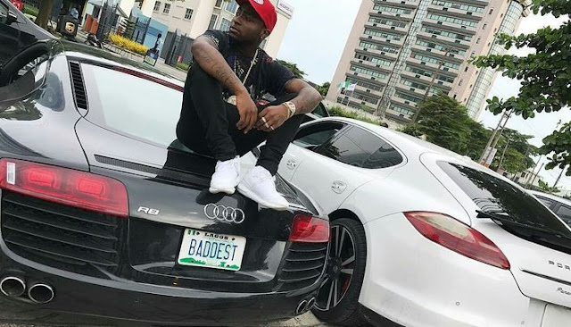 davido fought over cars with ice