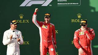 FÓRMULA 1 - Vettel se lleva la primera alegría de la temporada con Fernando Alonso 5º
