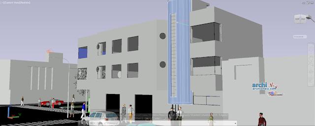 3d hotel-peru in AutoCAD