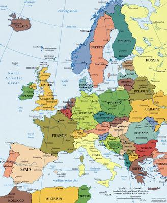 Mapa Da Europa Politico Regional Provincia Cidade Mapa Da Armenia