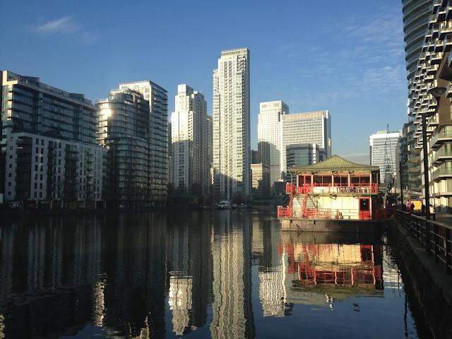 Canary Wharf en Londres