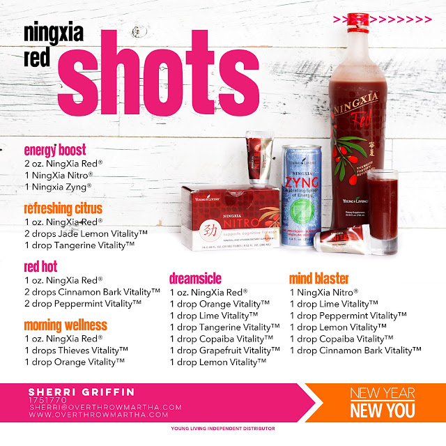 A bunch of ideas for NingXia Red shots for #health, #energy, #weight and more!