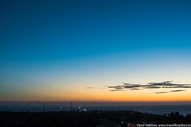 Sunrise series in kanyakumari