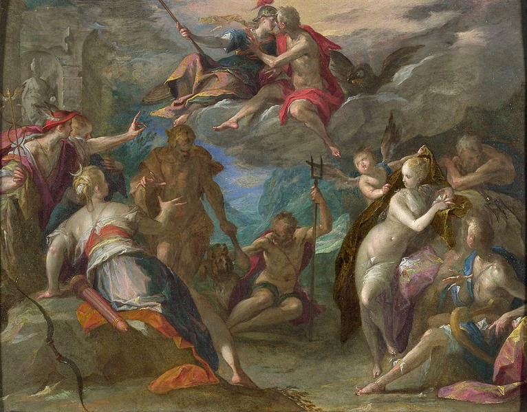 Espanto dos Deuses - Hans Von Aachen e suas pinturas ~ Um grande pintor do estilo maneirista
