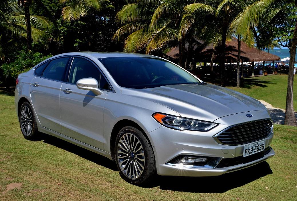 2017 Ford Fusion 2 0 Ecoboost >> Ford Fusion 2017, reestilizado, chega ao Brasil em 4 versões