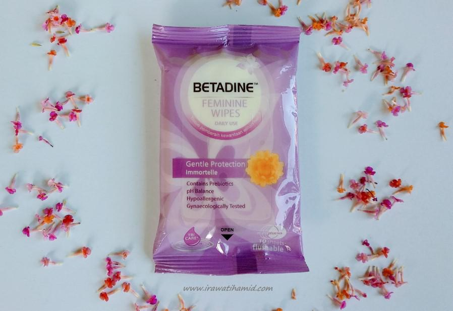 Betadine Feminine Wipes