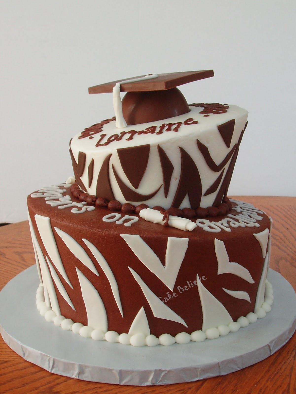 Topsy Turvy Chocolate Graduation