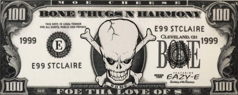 Bone Thugs-N-Harmony Poster by Tad Carpenter | Dribbble ...  |Bone Thugs Skull