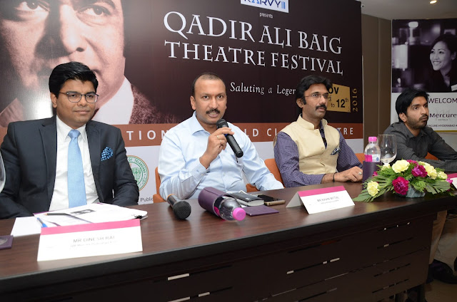 Mercure Hyderabad KCP  associates with Qadir Ali Baig Theatre Festival 2016