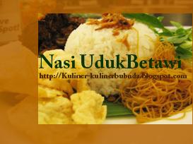Masyarakat Jakarta tentunya kenal dengan masakan yang satu ini Resep Nasi Uduk dari Betawi
