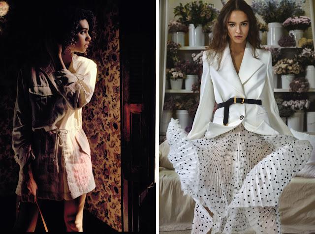 Жакет сафари и плиссированная юбка - Модная одежда для весны и лета