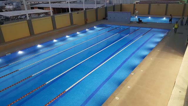 Olympic swimming pool in dubai