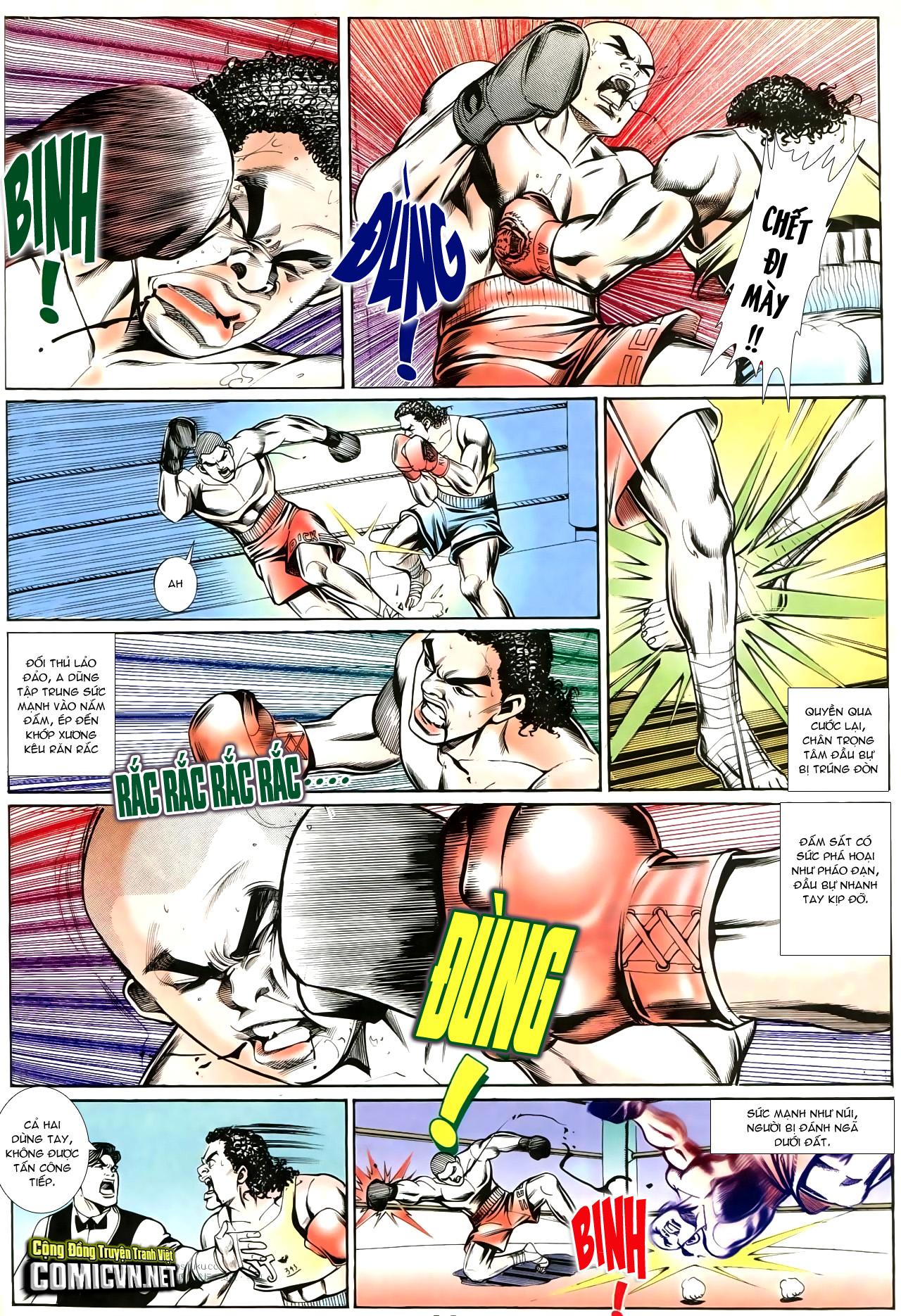 Người Trong Giang Hồ chapter 195: sóng gió ngút trời trang 11
