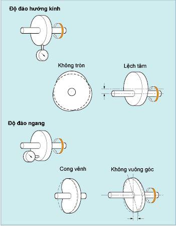 ảnh hưởng độ đảo đến lốp ô tô