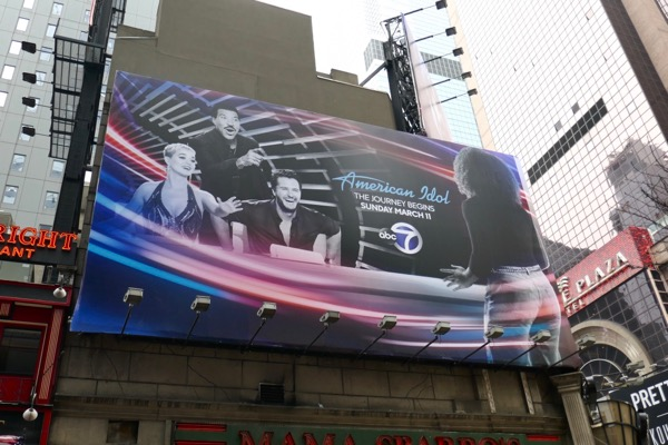 American Idol season 16 billboard NYC