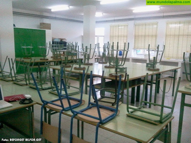 El Gobierno de Canarias suspende las clases para mañana miércoles