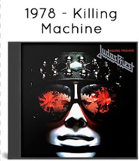 1986 - Killing Machine / Hell Bent For Leather [Columbia, CK 35706, USA]