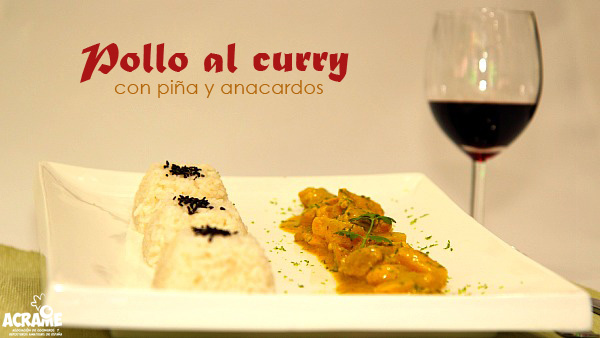 Pollo al curry ACRAME