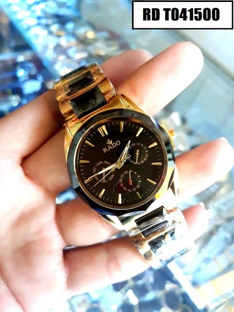 Đồng hồ nam Rado RD T041500 thiết kế tinh xảo, cao cấp, máy Nhật Bản