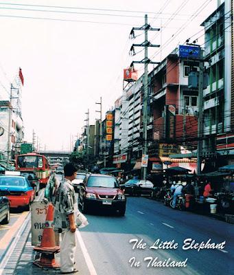 Street life in Bangkok - Thailand