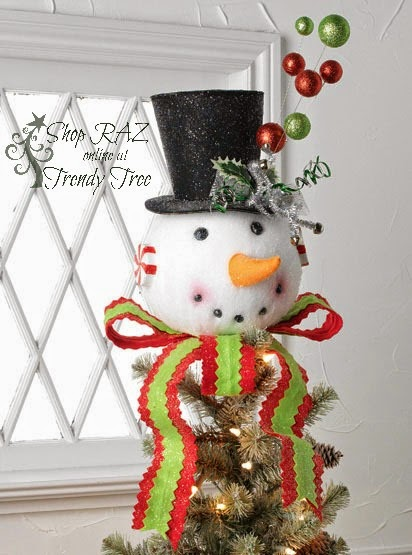 http://www.trendytree.com/raz-christmas-and-halloween-decor/raz-195-snowman-head-tree-topper.html