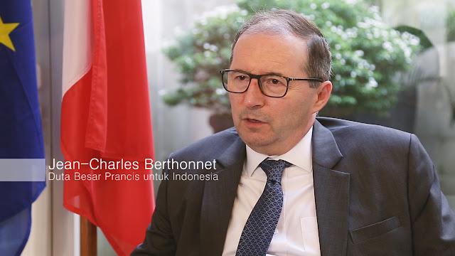 Duta Besar Prancis untuk Indonesia, Jean Charles Berthonnet