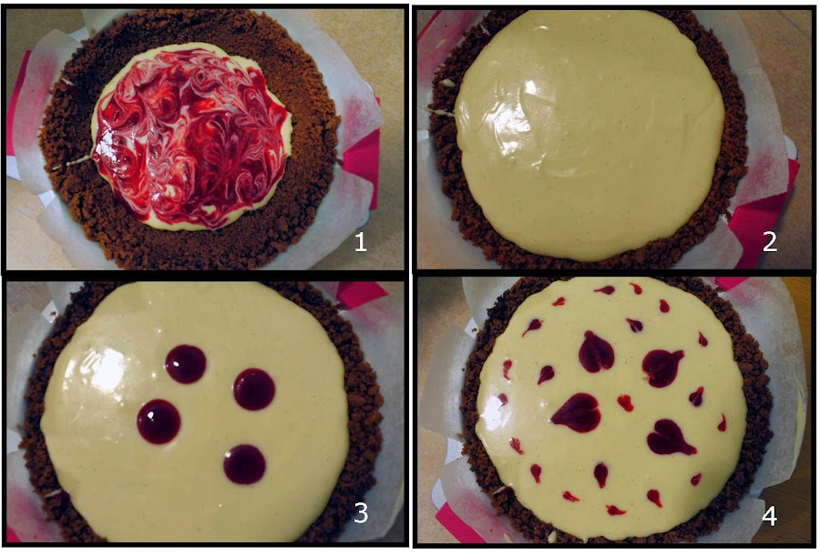 Receta Cheesecake de chocolate blanco y fresas