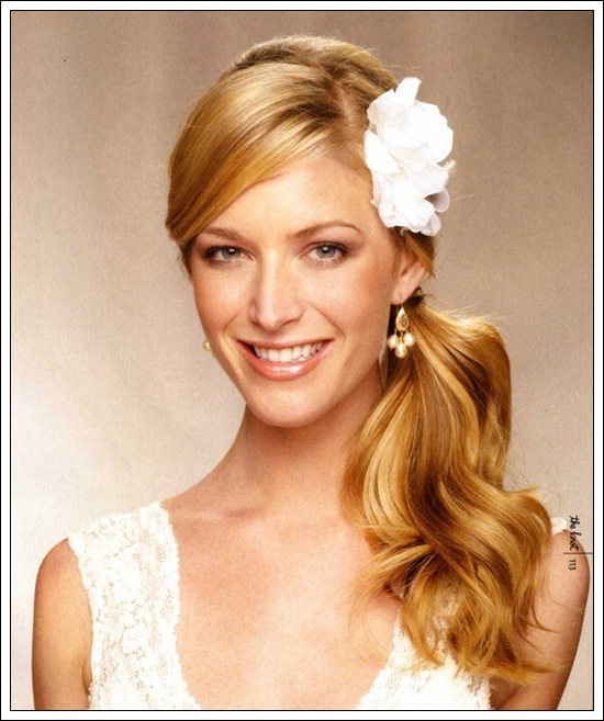 Side Ponytail Hairstyles For Girls Hairstyle For Womens