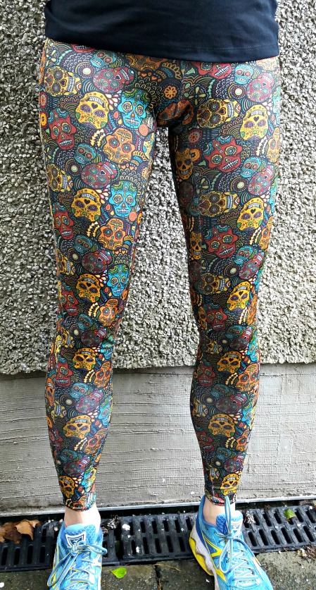 Finished: Jalie Cora Running Tights for Spoonflower British