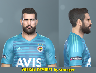 PES 2019 Faces Volkan Demirel by Stranger