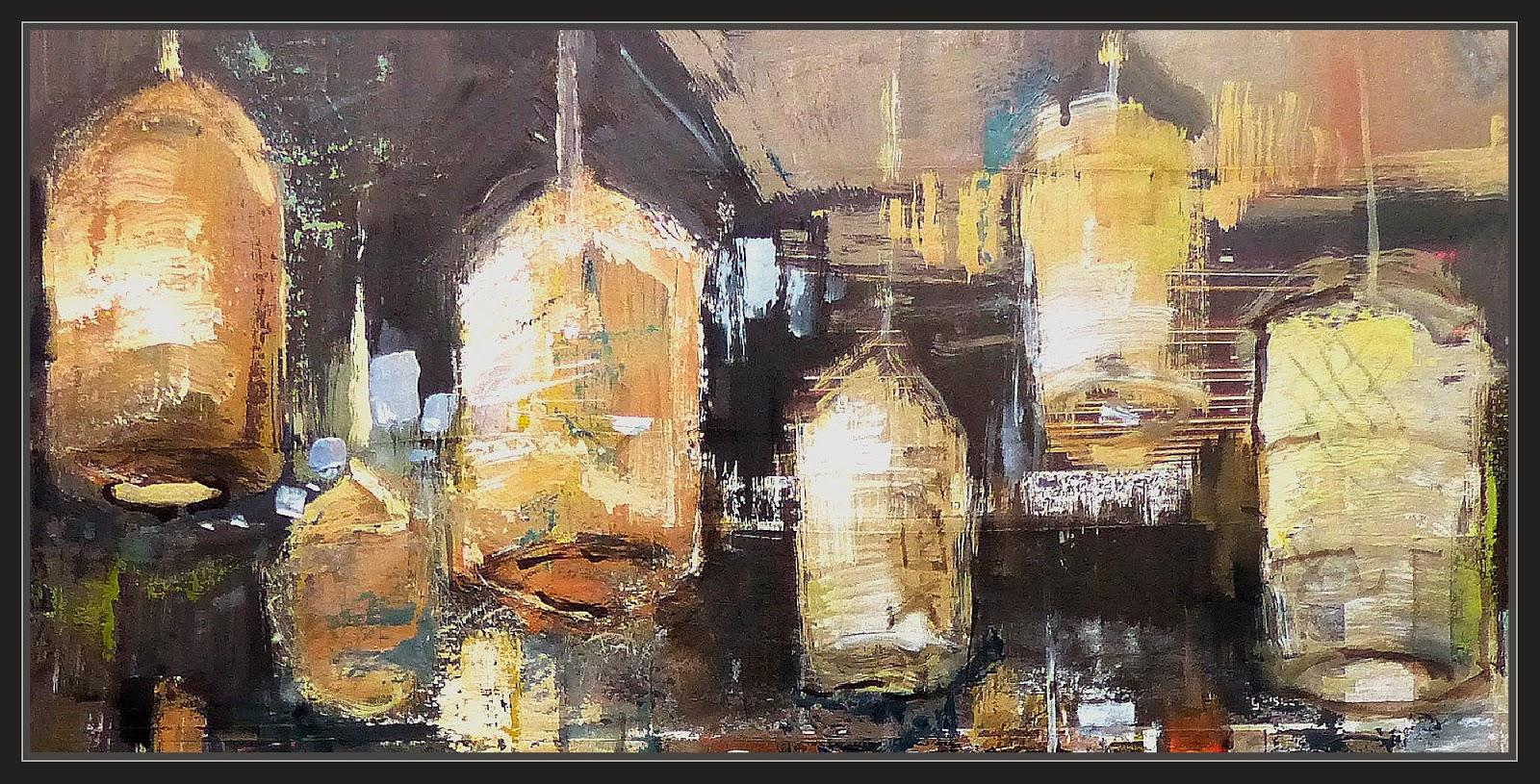 Ernest descals artista pintor restaurante chino pintura for Restaurante chino jardin