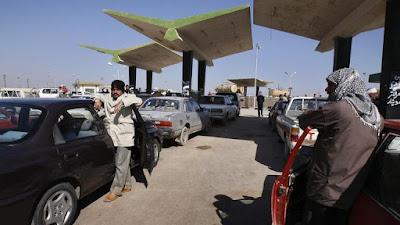 التفاصيل الكاملة, توزيع البنزين مجانا, بغداد, العراق,