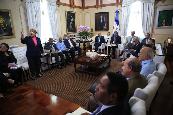 Presidente Danilo Medina se reúne con responsables recursos hídricos y meteorología para dar seguimiento a sequía