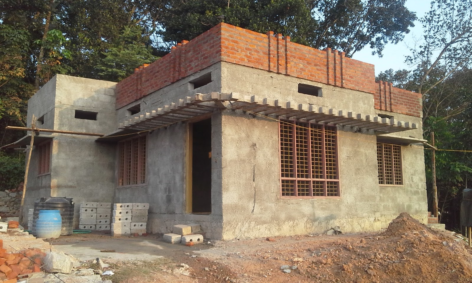 parapet house designs