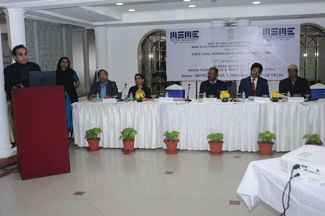 12 MSME Development Institute, New Delhi organized a State Level Vendor Development Programme