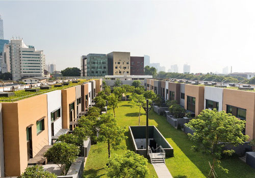 Tinuku Architectural design office building Australian embassy in Jakarta