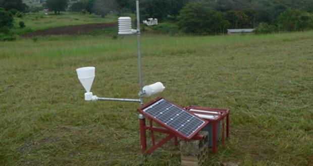 Station météorologique agricole en Afrique : Cameroun