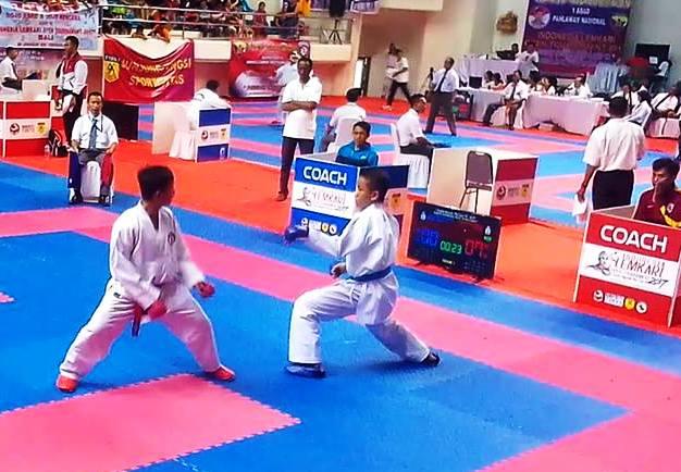 Kalahkan, Karateka, Jatim, Tim ,Selayar ,Sabet Emas Pertama ,Di ,Bali