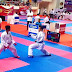Kalahkan Karateka Jatim, Tim Selayar Sabet Emas Pertama Di Bali