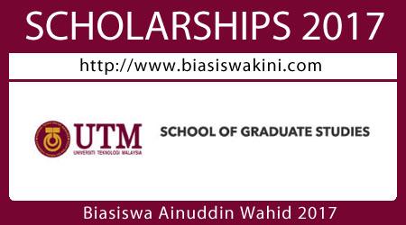Biasiswa Ainuddin Wahid 2017