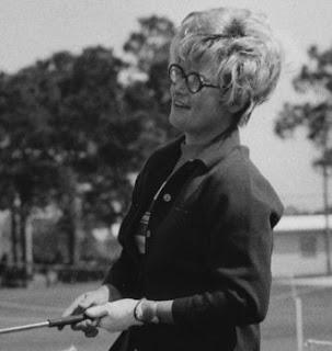 LPGA golfer Shirley Englehorn