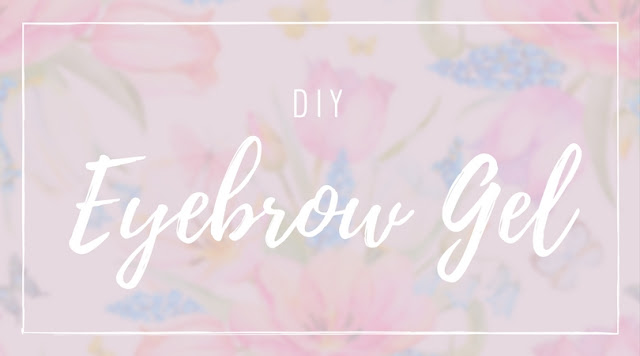 DIY Eyebrow Gel Cover