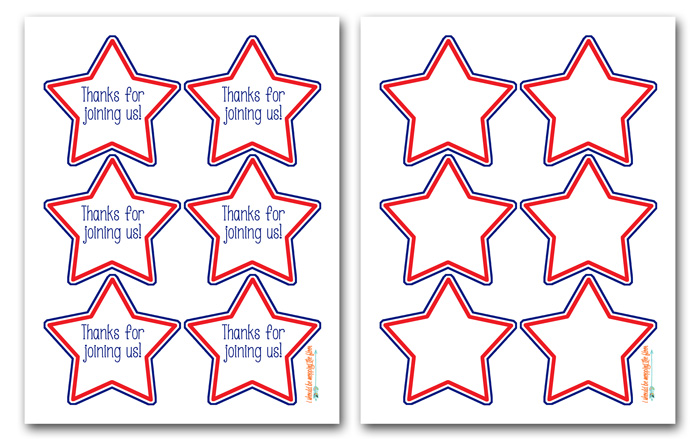 Free Printable Star Tags