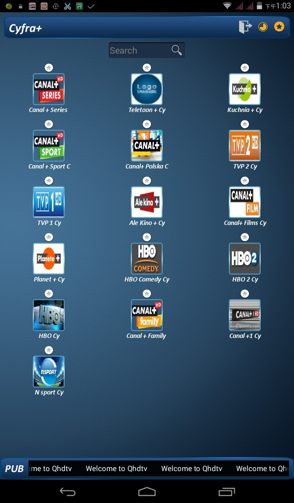 QHDTV: QHDTV package added more than 20 channels