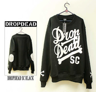 Jaket Fleece Hoodie - Dropdead DROP005