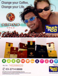 Exclusive OG Malaysian Touch n GO Card for the Organo Malaysia Family