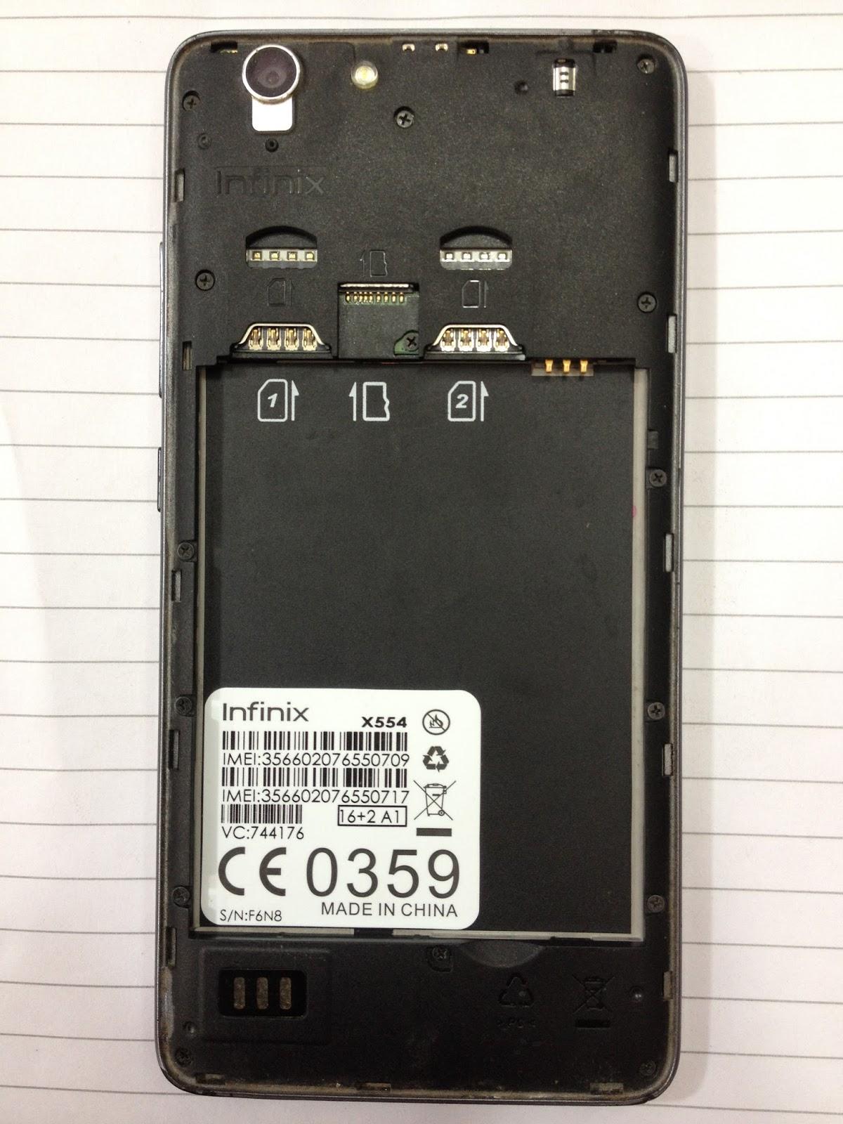 infinix x554 firmware