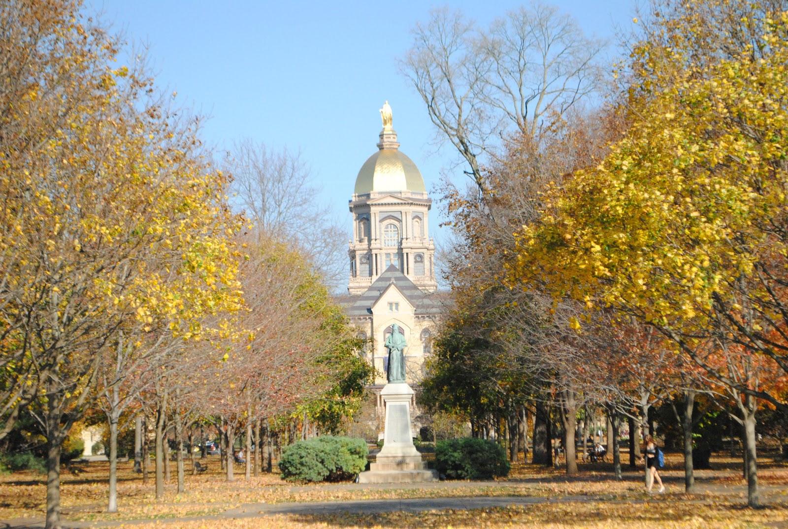 Inside Notre Dame Golden Dome